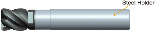 0.060 Corner Radius 3 0.6 Flute Length Mitsubishi Materials IMX20C3A0750R060P Series IMX20 Carbide Exchangeable Head End Mill Without Coolant Hole for Aluminum Alloys 0.750 Cutting Dia