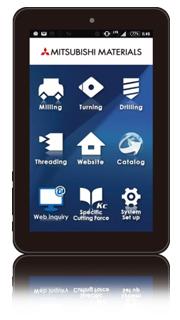 App for Cutting Calculation Program | MITSUBISHI MATERIALS CORPORATION