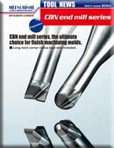 Mitsubishi Materials VF2XLBR0050N180S04 Series VF2XLB Carbide Impact Miracle End Mill 2 Flutes 1 mm Cut Dia Short Shank 4 mm Shank Dia Ball Nose 0.8 mm LOC 18 mm Neck 0.5 mm Corner Radius