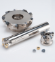 New Double-sided Insert Type High Feed Radius Milling Cutter, WJX Series